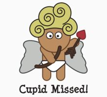 Cupid Missed Kids Tee