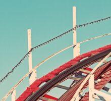 Coast - Roller Coaster Ride Sticker