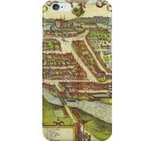 Kolding Vintage map.Geography Denmark ,city view,building,political,Lithography,historical fashion,geo design,Cartography,Country,Science,history,urban iPhone Case/Skin