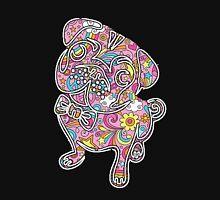 colorfull henna pug  Unisex T-Shirt