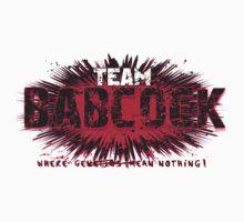 Teambabcock Athlete Apparel  Baby Tee