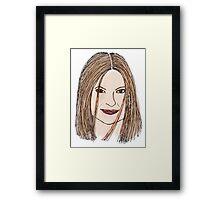 Mariska Framed Print