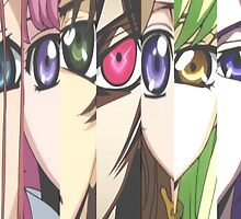Code Geass: Eyes by carstxirs