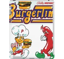 Burgertime Arcade Game  iPad Case/Skin