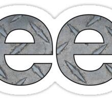 Jeep Metal Sticker