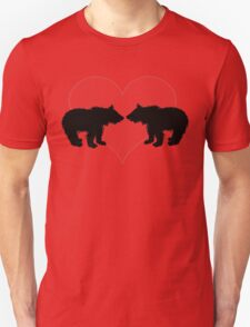 Bears with heart Unisex T-Shirt