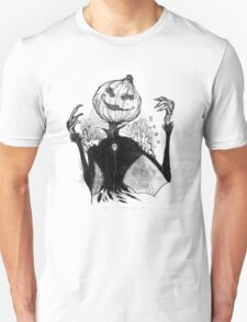 Sketchy Scarecrow Unisex T-Shirt