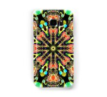 Colourful Pattern in a Kaleidoscope case Samsung Galaxy Case/Skin