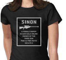 <SWORD ART ONLINE> Sinon A Female Sniper Womens Fitted T-Shirt