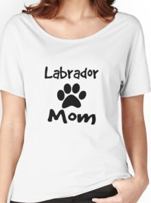 Labrador Mom Women's Relaxed Fit T-Shirt