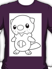 Black and White Oshawott T-Shirt