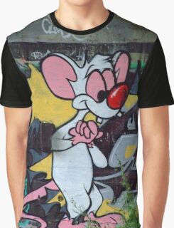 Pinky Graffiti Graphic T-Shirt