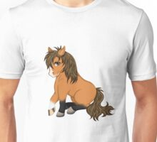 Little horse (without writing) Unisex T-Shirt