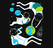 A Day Out In Space - Black Unisex T-Shirt