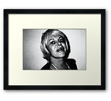 Genesis Bryer P-Orridge Framed Print