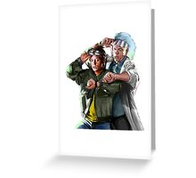 Doc and Mharti Greeting Card