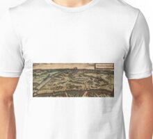 Ingolstadt Vintage map.Geography Germany ,city view,building,political,Lithography,historical fashion,geo design,Cartography,Country,Science,history,urban Unisex T-Shirt