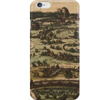 Ingolstadt Vintage map.Geography Germany ,city view,building,political,Lithography,historical fashion,geo design,Cartography,Country,Science,history,urban iPhone Case/Skin
