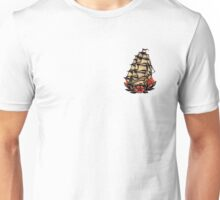 Sailor Jerry Pirate Ship Unisex T-Shirt