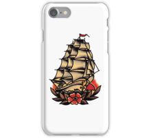 Sailor Jerry Pirate Ship iPhone Case/Skin