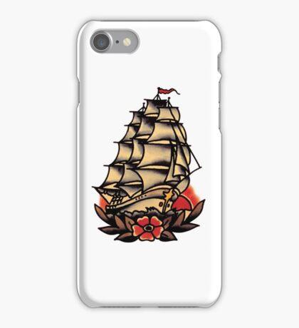 Sailor Jerry Pirate Ship iPhone Case/Skin