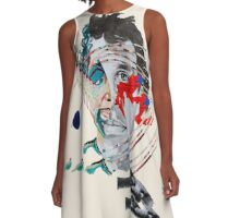 Painting With (Avey Tare) A-Line Dress