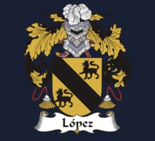 Lopez Coat of Arms/Family Crest One Piece - Long Sleeve