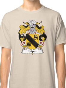 Lopez Coat of Arms/Family Crest Classic T-Shirt