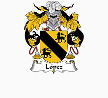 Lopez Coat of Arms/Family Crest Unisex T-Shirt