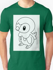 Black and White Piplup T-Shirt