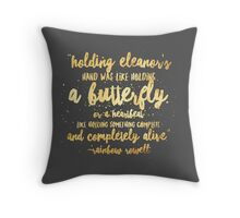 Eleanor and Park by Rainbow Rowell - Quote Throw Pillow