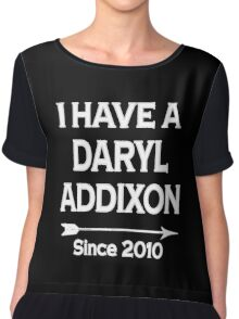 I have a Daryl Addixon - Walking Dead Chiffon Top