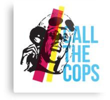 Bez  - Call The Cops Metal Print