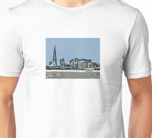 Southbank in Blue by Tim Constable Unisex T-Shirt