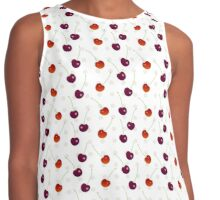 Sweet cherry berry Contrast Tank
