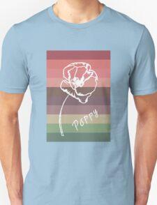 Poppy Study  T-Shirt