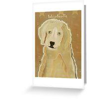 labradoodle  Greeting Card