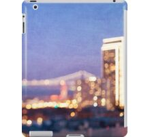 Bay Bridge Glow - San Francisco iPad Case/Skin