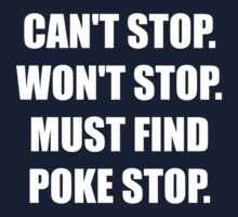 Must Find Poke Stop One Piece - Short Sleeve