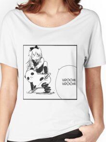 Kyouko Being cute Yuru Yuri  Women's Relaxed Fit T-Shirt