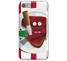 Cannibalism is free iPhone Case/Skin