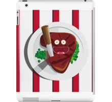 Cannibalism is free iPad Case/Skin