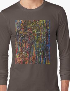 Melting Line Love Long Sleeve T-Shirt