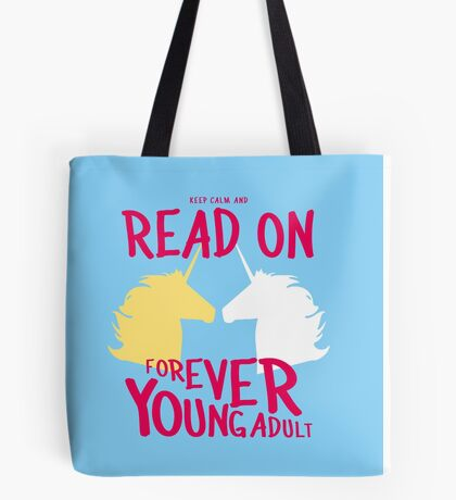 Keep Calm and Read On, FYA Tote Bag