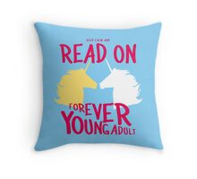 Keep Calm and Read On, FYA Throw Pillow