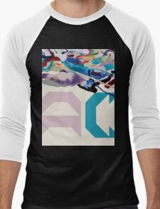Painting With (AC Logo) Men's Baseball ¾ T-Shirt