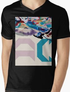 Painting With (AC Logo) Mens V-Neck T-Shirt