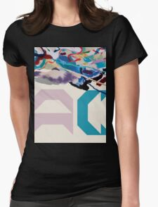 Painting With (AC Logo) Womens Fitted T-Shirt