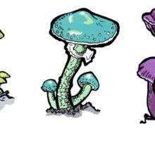 Mushroom Rainbow Sticker