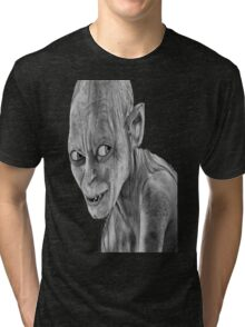 lord of the rings-smygl-golum Tri-blend T-Shirt